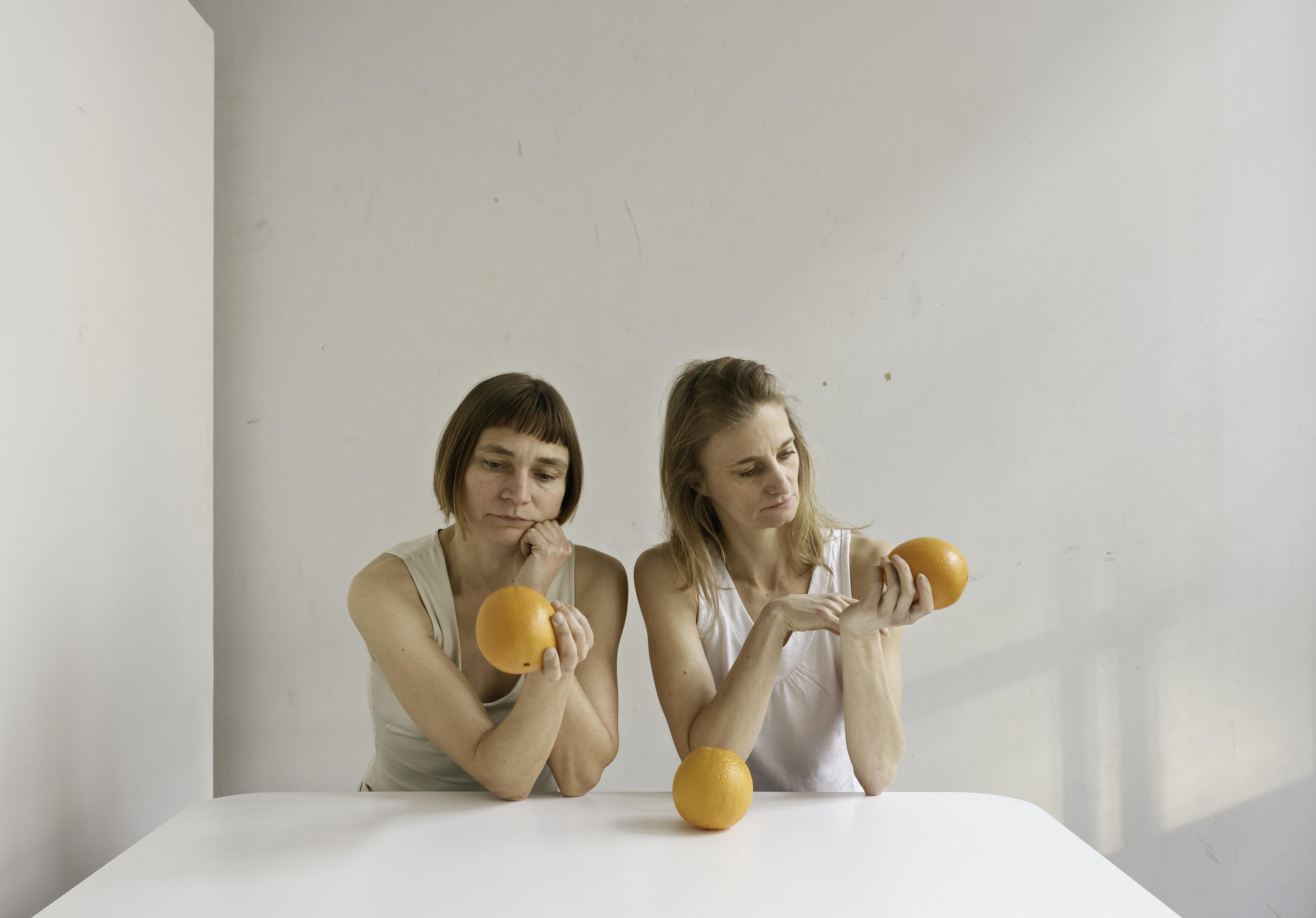 Elina Brotherus: Orange Event (2017)