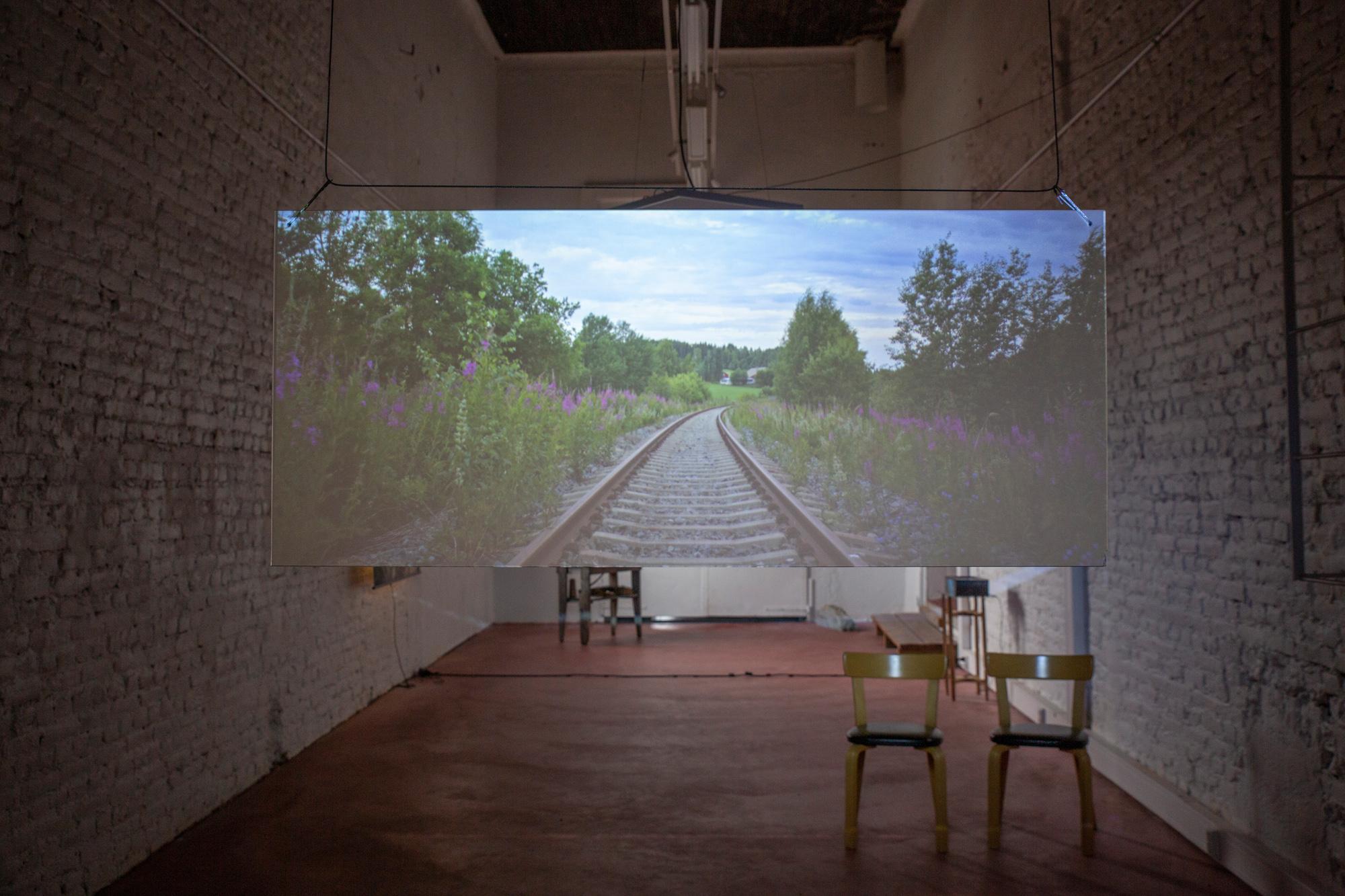 Jaakko Ruuska: Rantasalmi-Savonlinna - Disconnected Space (2018)