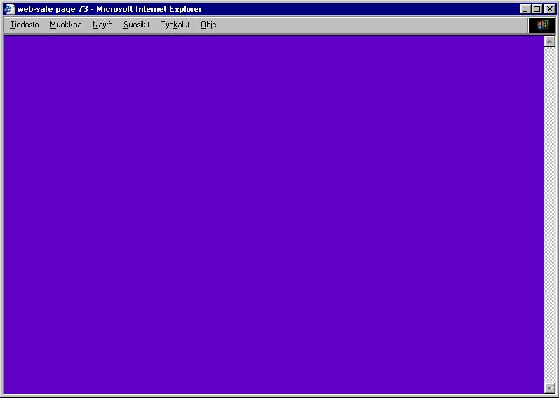 Juha van Ingen: Web Safe (1999-2000)