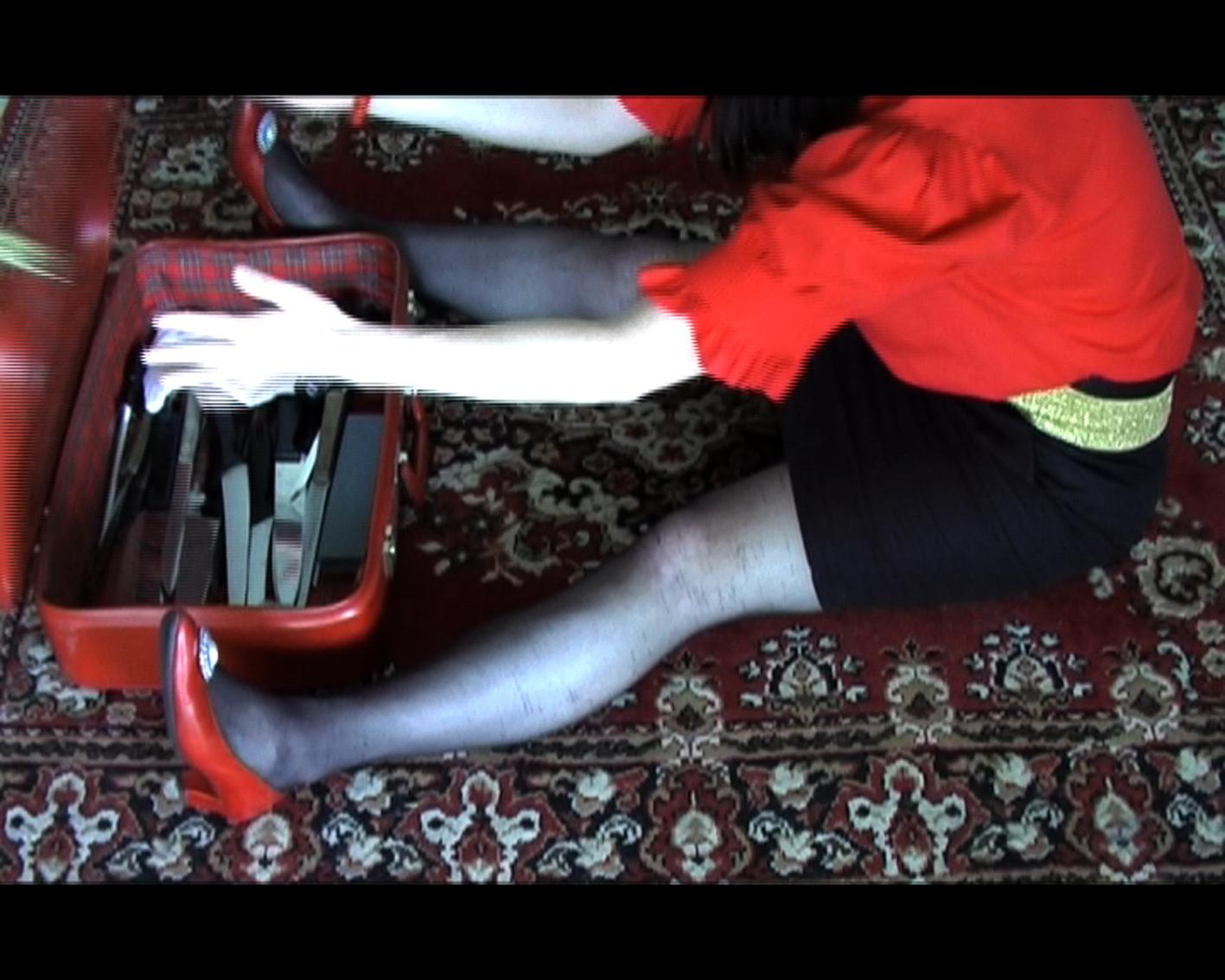 Nina Lassila: Woman with Knife (2010)